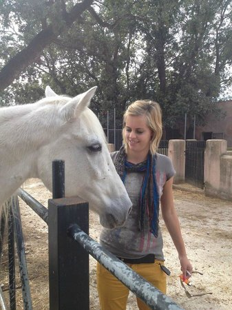 Hotel Rural & Spa Monnaber Nou: Horseriding