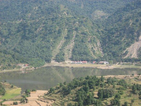 Haryana, Hindistan:                                     Tikkar lake 1