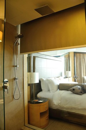 Dorsett Grand Subang:                   The Bath Room, Rain forest Shower, awesome experience.