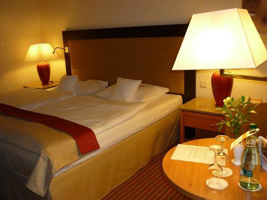 Travel Charme Ostseehotel Kuhlungsborn / Baltic Sea: gemütliches Bett