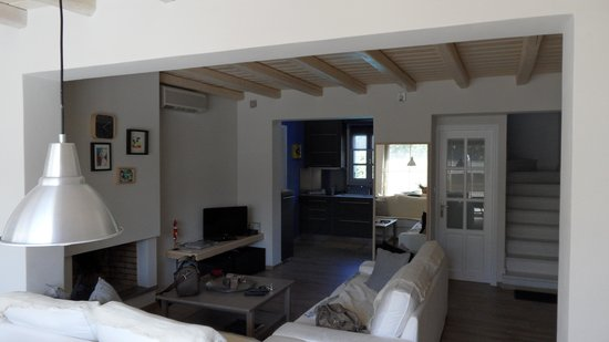 Villa Delona:                   living room - kitchen