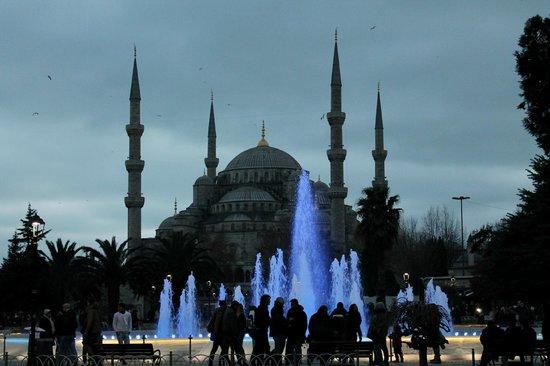 Midtown Hotel: moschea blu