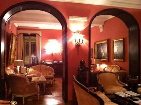 Residenza Frattina: sala per la colazione