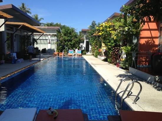 Phu NaNa Boutique Hotel: la piscine