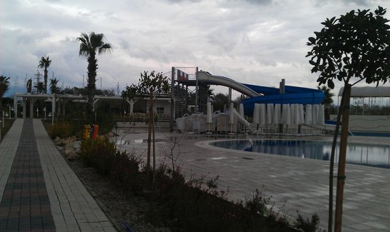 Lake & River Side Hotel & SPA:                   The water slide