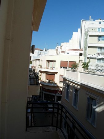 Kimon Athens Hotel:                   view from balcony