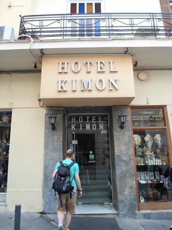 Kimon Athens Hotel:                   Hotel Front