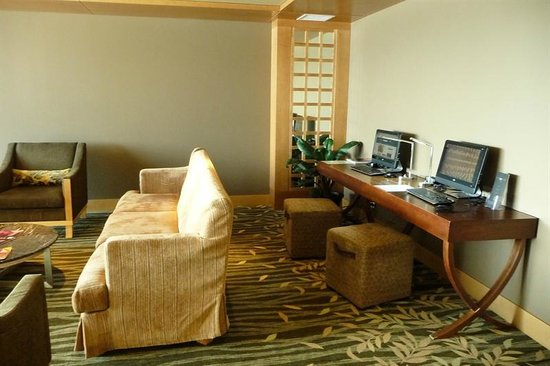 Sparkling Hill Resort:                   Third Floor Library even has laptops!