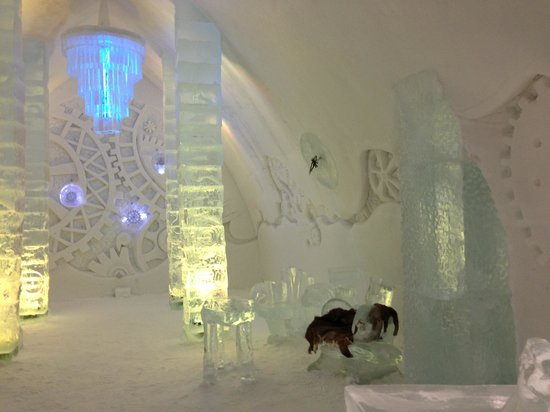 Hotel de Glace:                   Beautiful...