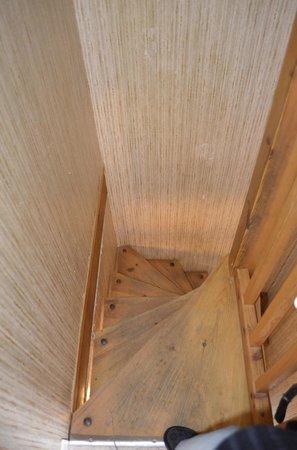 Residence Hameau du Pas de Loup : escalier