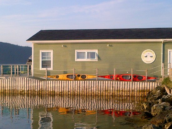 Seaside Suites Gros Morne Newfoundland: Over the Water Building