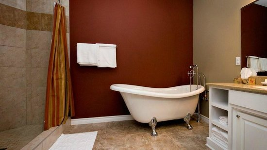 Seaside Suites Gros Morne Newfoundland : Tablelands Bath