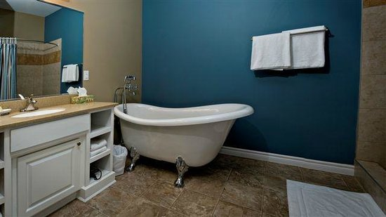 ‪‪Seaside Suites Gros Morne Newfoundland‬: Gros Morne Bath‬