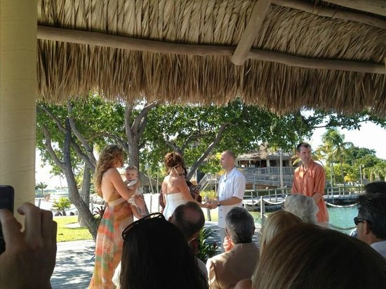 Postcard Inn Beach Resort & Marina at Holiday Isle:                   Where the ceremony took place