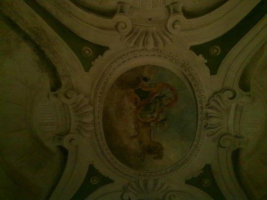 Palazzo Bontadosi Hotel & Spa: soffitto camera n°1