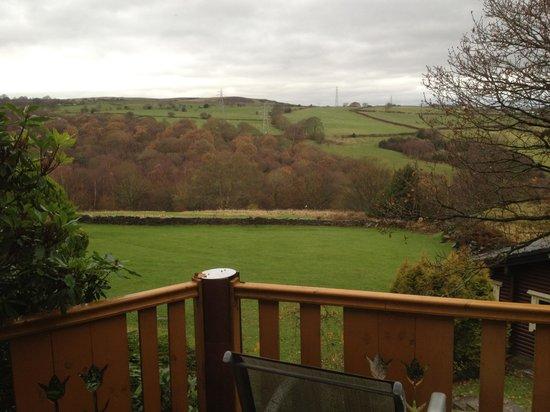 Faweather Grange: View from Tamarisk front door