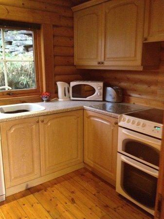Faweather Grange: Tamarisk kitchen