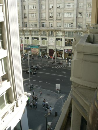 Tryp Madrid Cibeles Hotel :                   View from the room