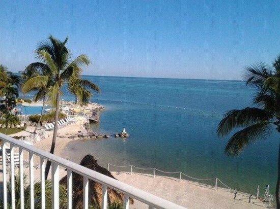 Postcard Inn Beach Resort & Marina:                   View from Room #1