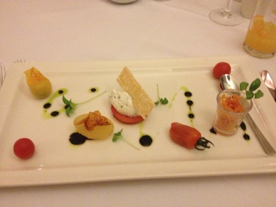 Rookery Hall Hotel & Spa:                   Almost to pretty to eat!