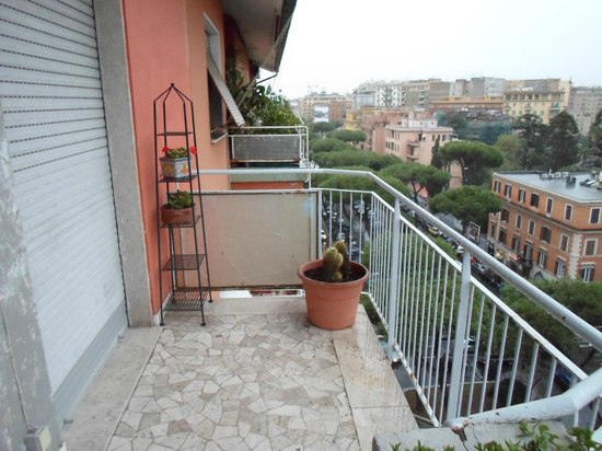 I Tetti di Roma:                   View from balcony