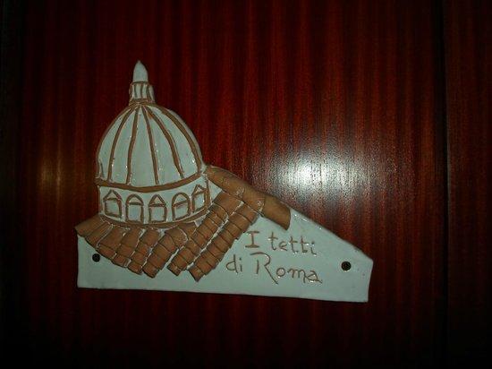 I Tetti di Roma:                   front Door