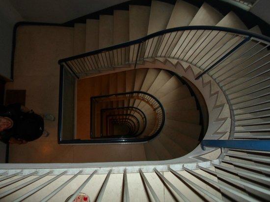 I Tetti di Roma:                   Spiral Staircase