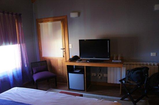 Hosteria El Coiron: interior de la habitación