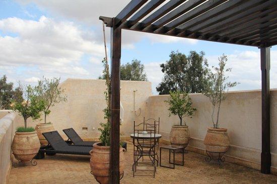 La Villa des Orangers - Hotel:                   Private Solarium