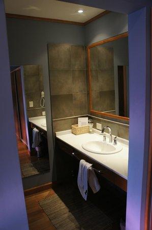 Hosteria El Coiron: baño /toilette
