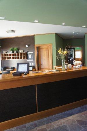 Hosteria El Coiron: recepción