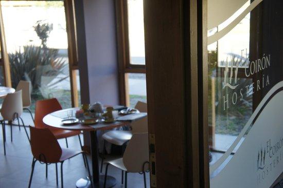 Hosteria El Coiron: desayunador