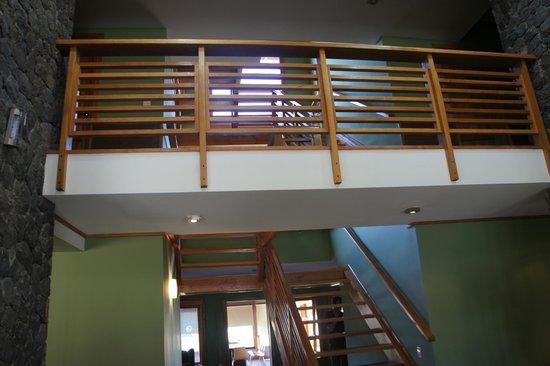 Hosteria El Coiron: interior hotel