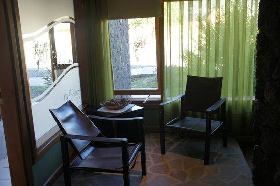 Hosteria El Coiron: sala relax