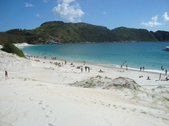 Pousada Tartaruga: Praia do Farol - Ilha de Cabo Frio - Arraial do Cabo
