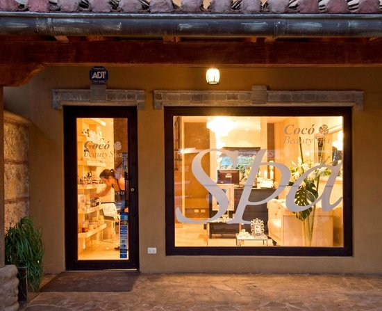 Coco Beauty Spa : Entrance´s view.