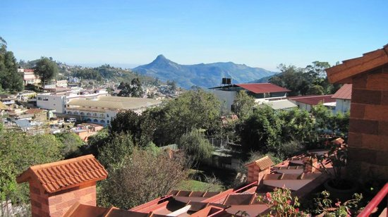 Kodai Resort : view from the room