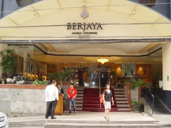Berjaya Makati Hotel Philippines Entrance