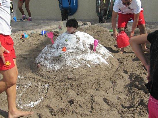 Canto Del Sol Plaza Vallarta:                   Sandcastle