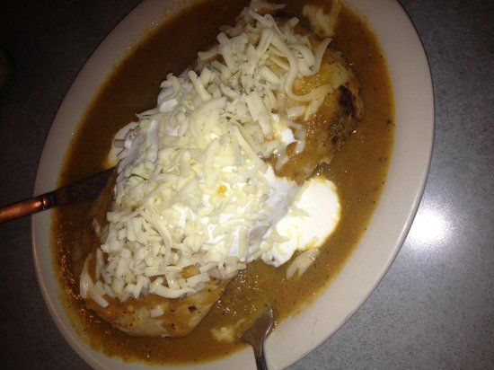 Taqueria San Bruno: Gloppy Wet Burrito mess