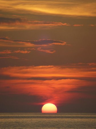Baan Pakgasri Hideaway: Sonnenuntergang