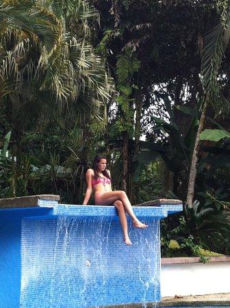 Hotel Villas Gaia:                   Vraag of de waterval aan mag