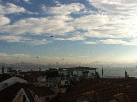 Angel's Home Hotel: Vu de la terrasse du petit déjeuner