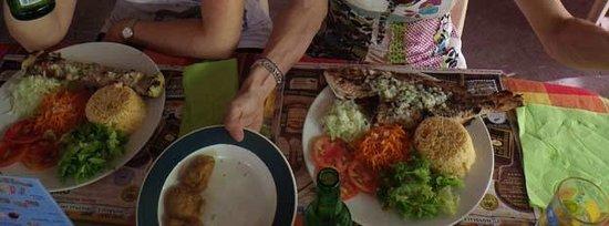 Chez Liline: une idée des assiettes