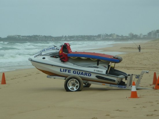 Novotel Twin Waters Resort:                   Beach safety is assured.                 
