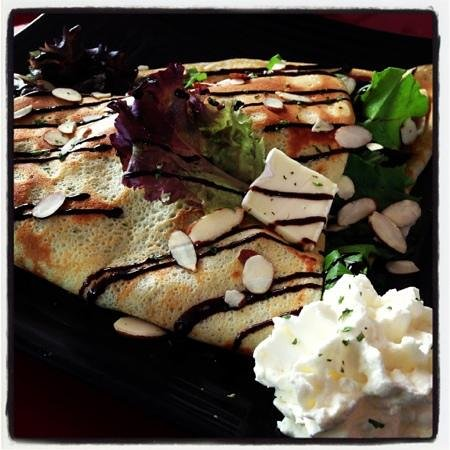 Our Crepes & More:                   Brie crepe