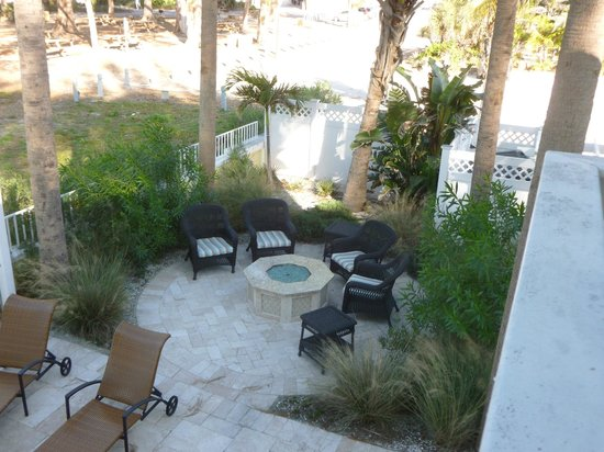 Anna Maria Island Beach Resort:                   gas fire pit area