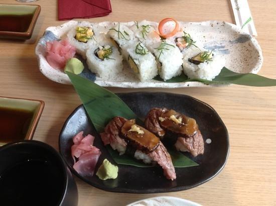 Goto Japanese Restaurant :                   delicious sushi!