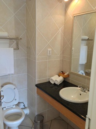 Elephant Lake Hotel: Clean bathroom