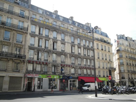 Modern hotel lafayette prices reviews paris france for Hotel moderne paris